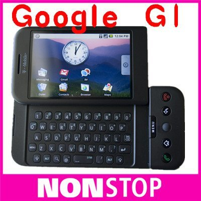HTC Google G1,unlocking Dream G1,Original T-Mobile G1 mobile phone Android OS v1.5 WCDMA Mobile Phone 5pcs/Lot(China (Mainland))
