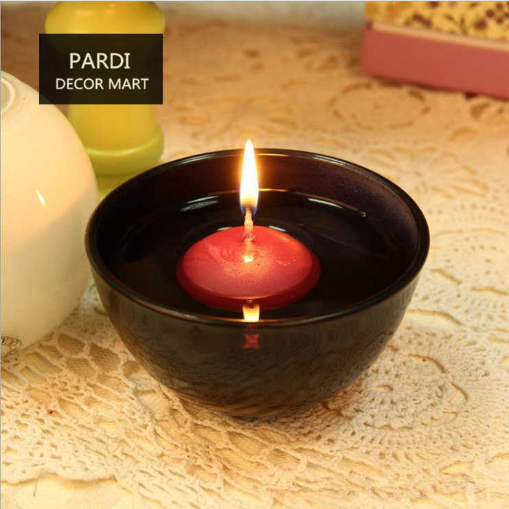 smokeless small floating candle scented candle red color tea lights relaxing candle home wedding. Black Bedroom Furniture Sets. Home Design Ideas