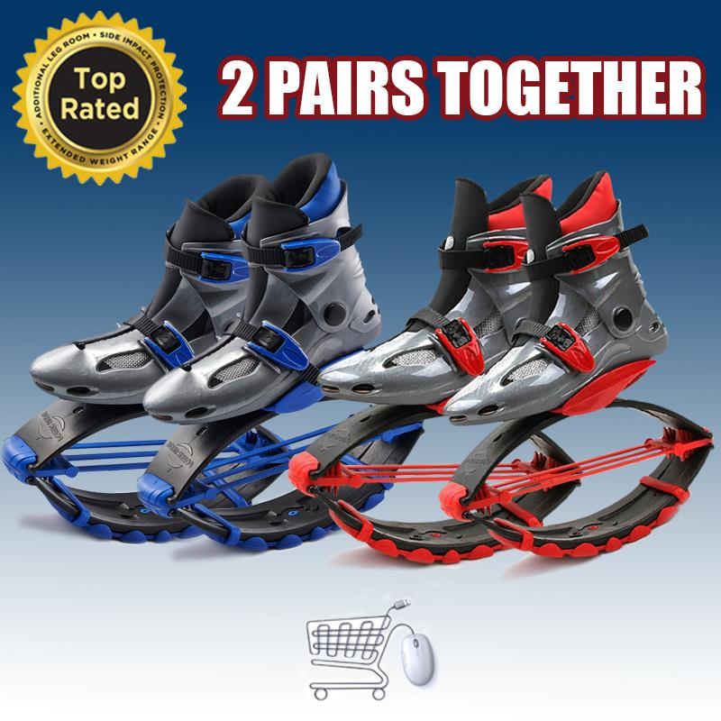 2 paires Kangoo Jumps chaussures de Fitness unisexe Kangoo saut chaussures chaussures de rebond Sports de plein air Sports de plein air chaussures Skyrunner(China (Mainland))