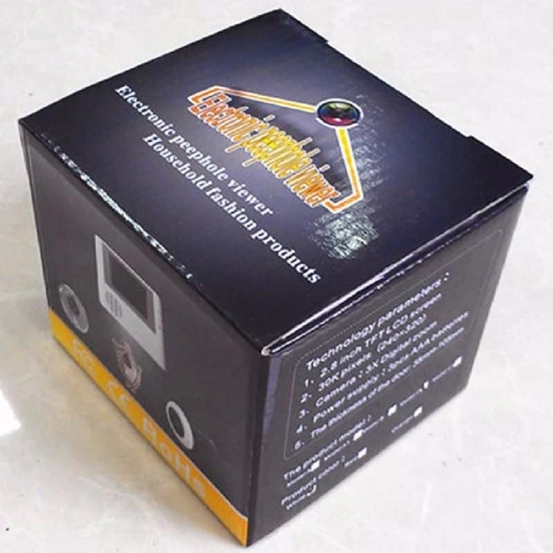 Видео глаз кольцо дверной звонок камера беспроводной глазок 2 8 дюймов TFT lcd 3X зум 10.1