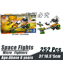 Bela 10369 Star Wars Micro Fighters Rapid Chariot Minifigures Building Block Minifigure Toys Compatible With Lego