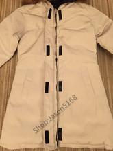 2016 Livraison gratuite Canada femmes Hiver chaud Respirant manteau en Duvet D'oie veste Loup col de fourrure des femmes Vers Le Bas veste Victoria Parka(China (Mainland))
