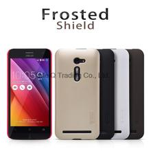 Case For ASUS Zenfone 2 Laser Nillkin Frosted Shield Hard Case Cover For ASUS Zenfone 2 Laser ZE500KL ZE550KL(China (Mainland))