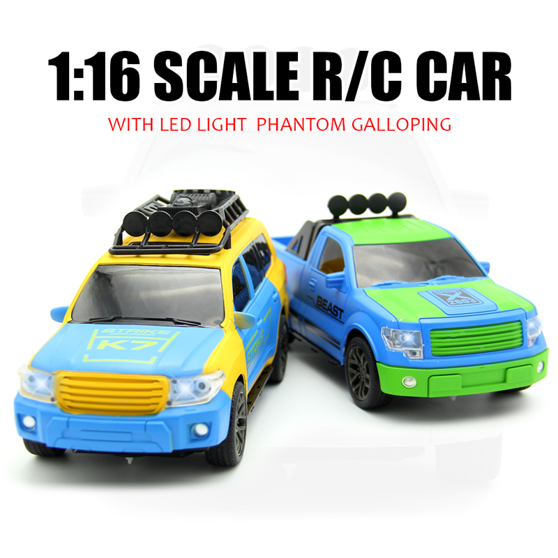 1:16 4CH RC Cars Remote Control Car Battery Powered Cars Model Flashing RC Car Brinquedo Controle Remoto With Radio Controller!!(China (Mainland))