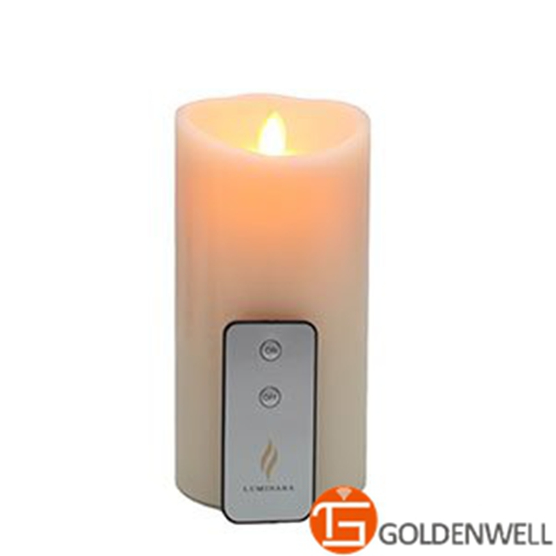 9 inch Environmental LED Candle With Remote by Luminara for Holiday Decoration of LIiving Room(China (Mainland))