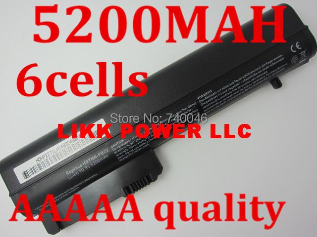 laptop batteries fORhp EliteBook 2530p 2540p,Notebook 2400 2510p nc2400 HSTNN-DB23,HSTNN-FB21,RW556AA,HSTNN-XB21(China (Mainland))