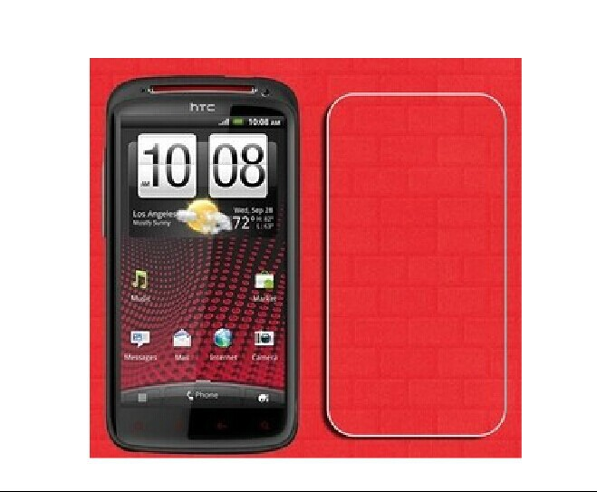 2 x High Quality Clear Glossy Screen Protector Film Guard Cover For HTC Sensation XE G18