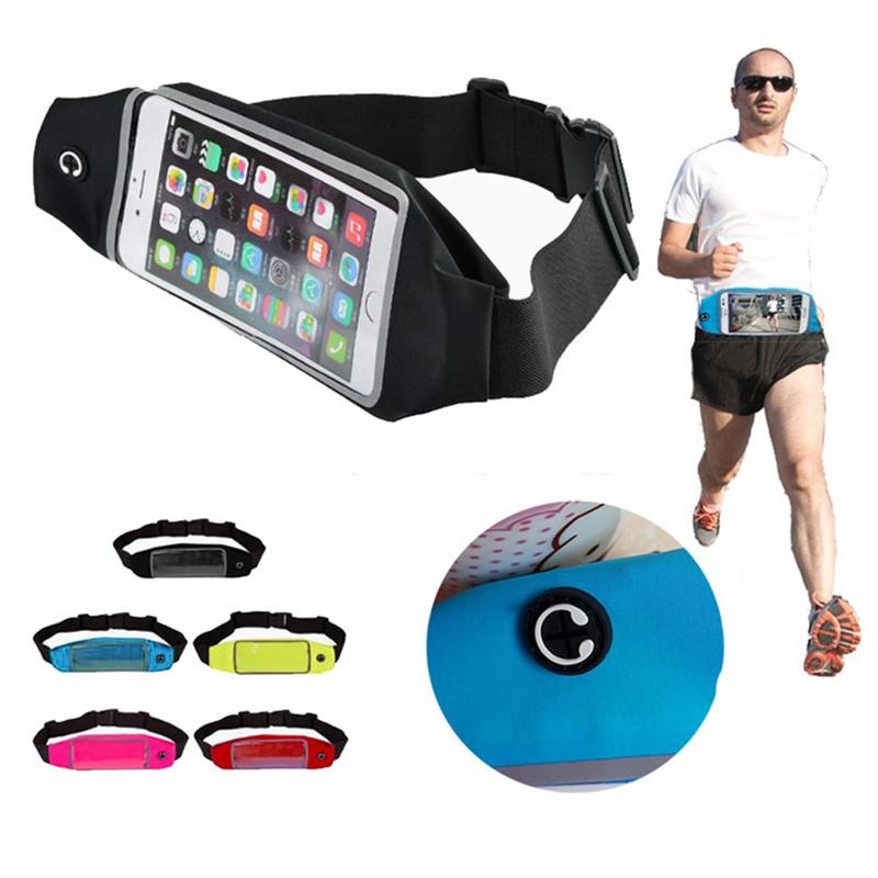 10pcs sports waist pack pouch waterproof running bags purse mobile phone Case for sony z1 z2 z3 z4 z3 mini z4 mini Belt pocket(China (Mainland))