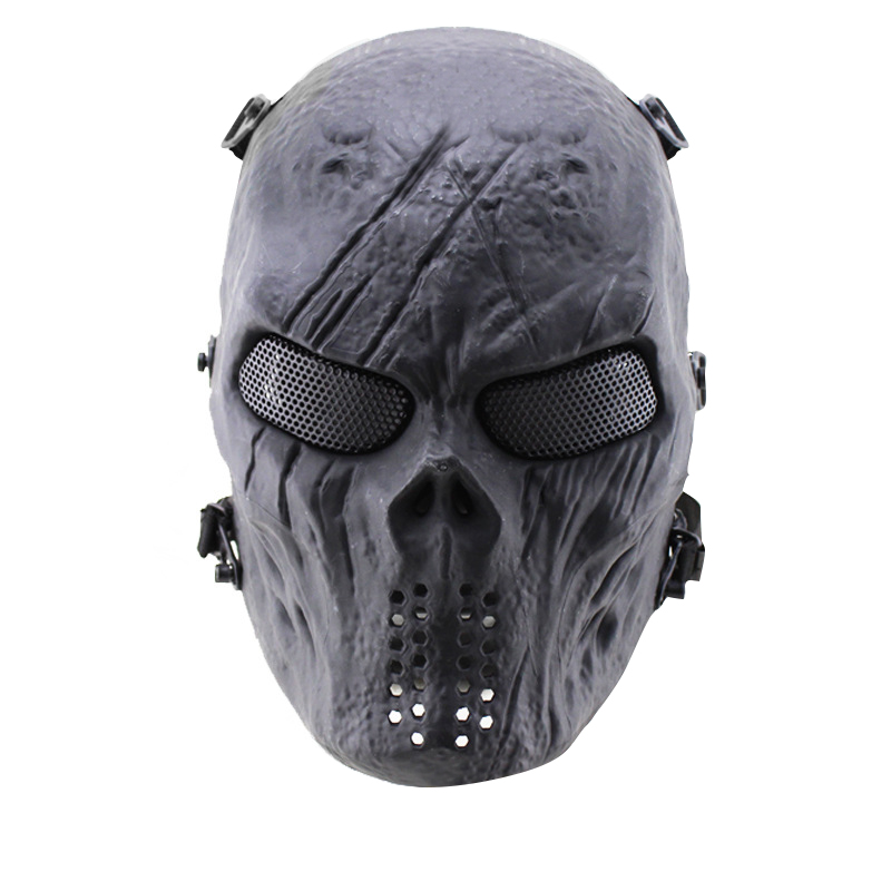 2016 Brand New Skull Skeleton Army Airsoft Tactical Paintball Full Face Protection Mask(China (Mainland))