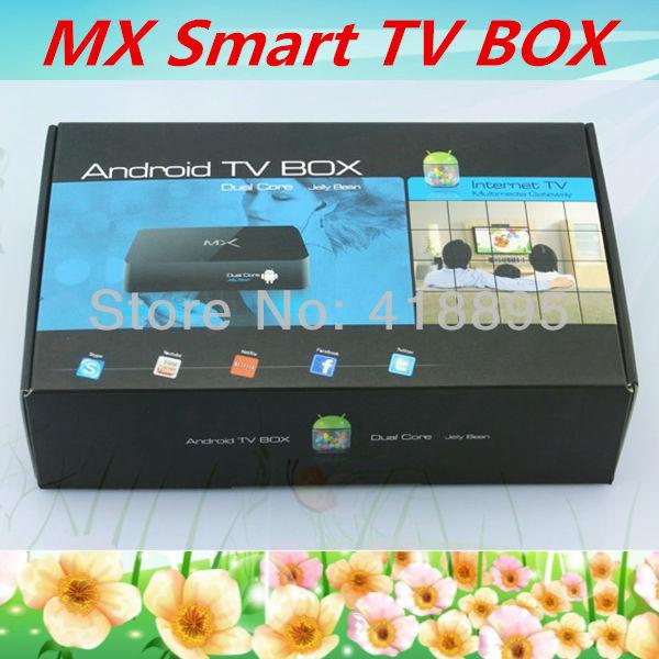 XBMC pre-installed Android 4.2 Google tv box Amlogic-8726 MX Dual Core Cortex A9 wifi RAM 1GB ROM 8GB 1080p<br><br>Aliexpress