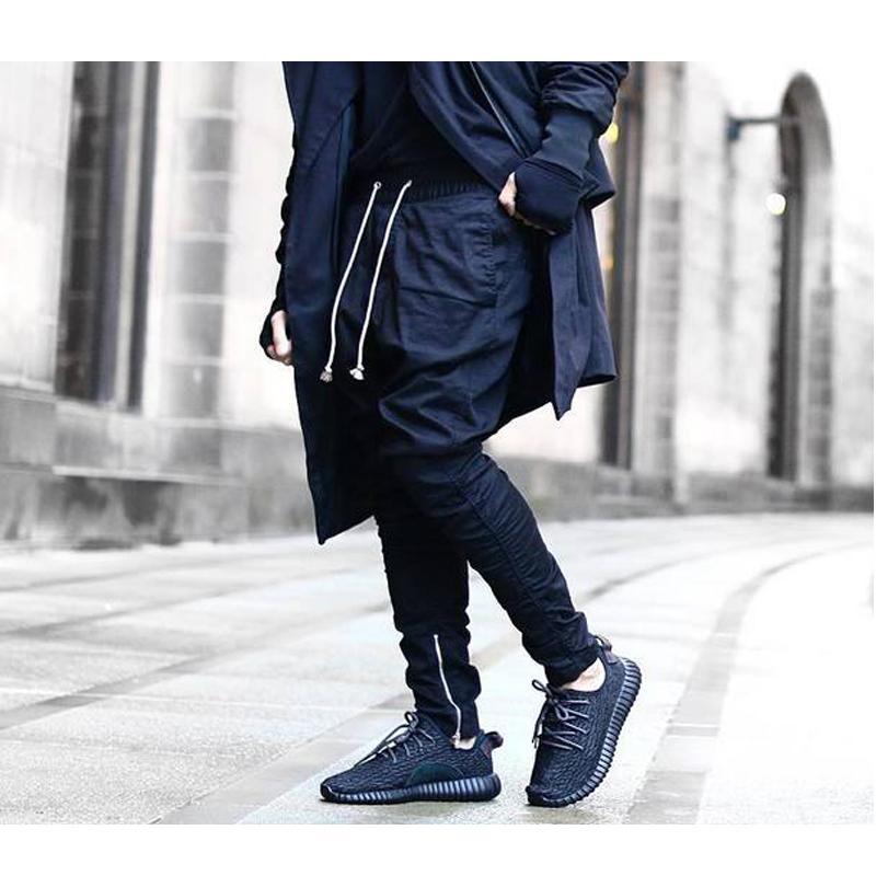 buy special fashion design mens male hip hop streetwear jogger biker pants. Black Bedroom Furniture Sets. Home Design Ideas