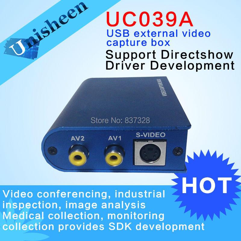 USB Video Capture Box CVBS S-Video Win7 SDK B ultrasonic video conference image analysis(China (Mainland))