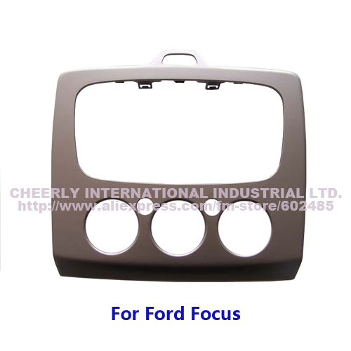 2Din Special Car Audio Refitting Frame, Dash Kit, CD Panel, DVD Cover for Ford Focus, Double Din(China (Mainland))
