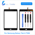 LL TRADER Black Front Glass Panel For Samsung Galaxy Tab A 8 0 SM T350 T350