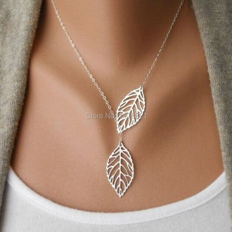2015 Summer Hot Fashion Gold Plated Fatima Hand Leaf 3 Layer Chain Bar Necklace Beads and Long Strip Pendant Necklaces Jewelry