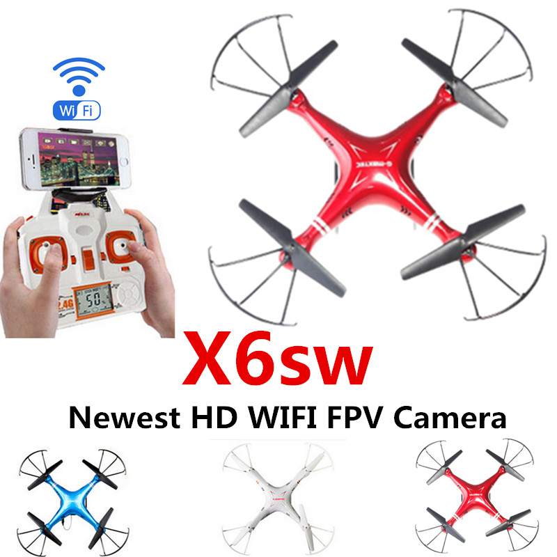 NEW X6sw RC Helicopter Drone Quadcopter Professional Drones With C4005 Wifi Fpv Camera 2.0 MP (Syma X5sw Upgrated Version) X600<br><br>Aliexpress