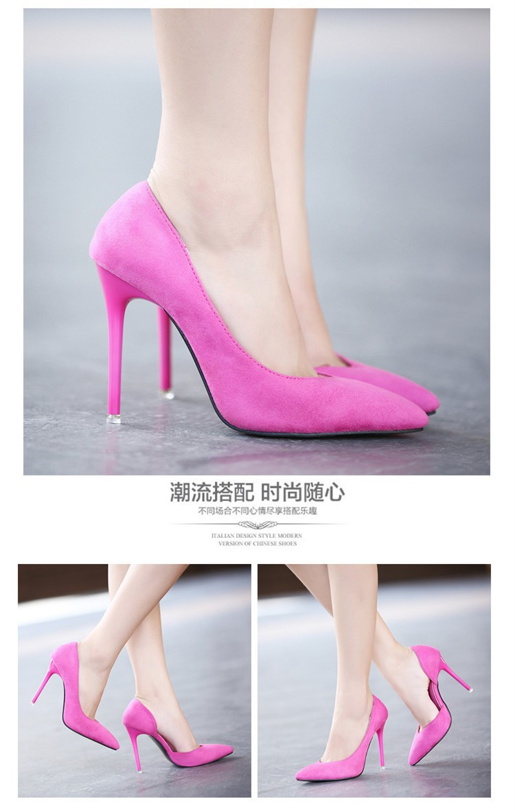 Size 4~8 Sexy High Heels Women Pumps Elegant Summer Women Shoes zapatos mujer New Arrival