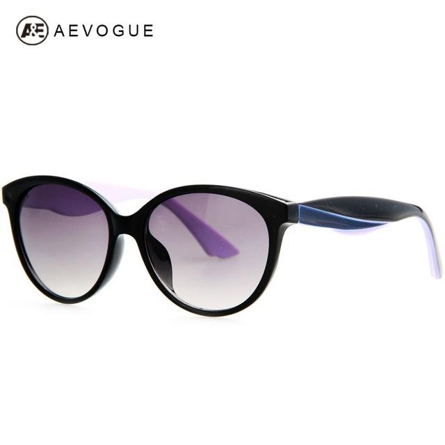 Aevogue новые овальная рамка старинные дизайна бренда солнцезащитные очки женщин горячая распродажа солнцезащитные очки 3 цветов храм UV400 AE0202