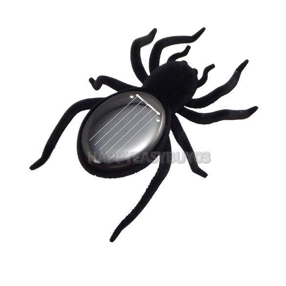 H3#R Mini Solar Powered Spider Toy Robot Emulational Spider Insect Toy Fun Toy Gift(China (Mainland))