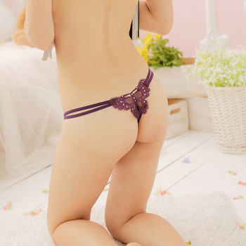 Fashion Butterfly Back No -Coverage Sexy Women /V-Strings G-Srings Thongs Panty , Fit S,M,L 2 color 2pcs/lot Free Post ,-- 5547