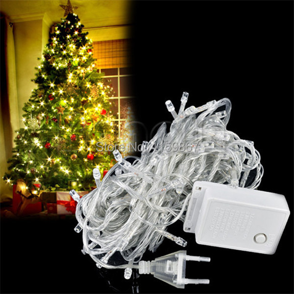 10m 100 LED string lights wedding partying Xmas Christmas tree decoration lights,led christmas ...