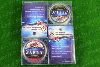 Free Shipping 1PCS 50m 15lb High Quality Transparent Japanese Fluorocarbon Fishing Line