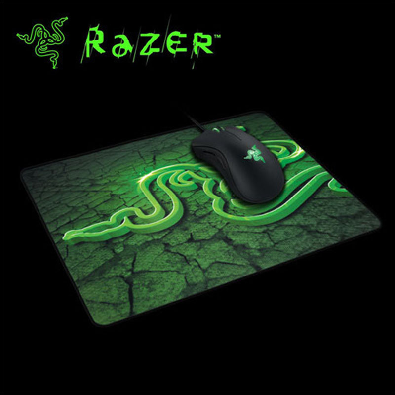 Razer Goliathus 210X250X2mm Gaming Mouse Pad Locking Edge Mouse Mat Speed/Control Version For Dota2 Diablo 3 CS Mousepad Win2 YF<br><br>Aliexpress