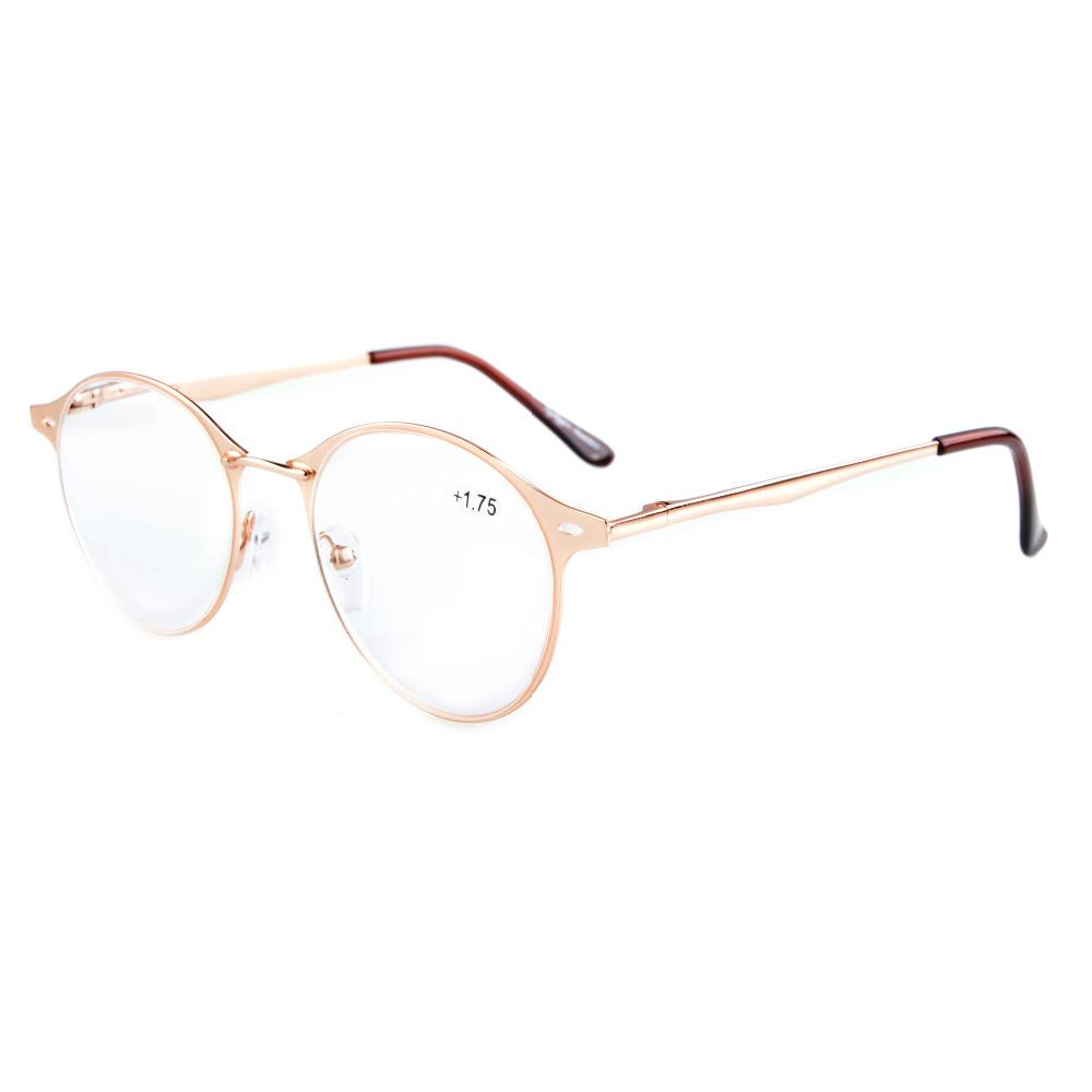 R15040 Eyekepper Quality Spring-hinge Small Oval Round Reading Glasses & Reading Sunglasses +0.00----+4.00(China (Mainland))