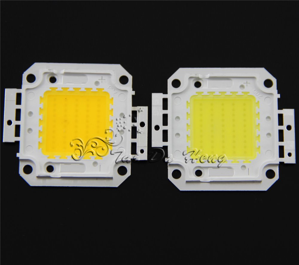 Гаджет  50W LED Chip for Floodlight Flood light Warm / Cool white 6000k - 6500k Super Bright High power 50 watt None Свет и освещение