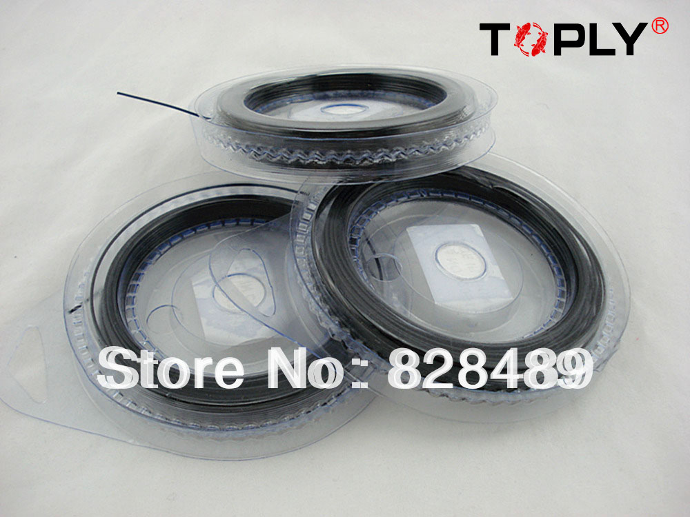 Wholesale!Fishing Leader line Fishing Wire Trace 304 Stainless Steel 7*7 80Lb Coated With Plastic(China (Mainland))