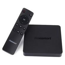 100% Tronsmart Vega S95 Pro Android Smart TV Box Amlogic S905 Quad Core 2.0GHz 1G/8G WiFi H.265 4K2K UHD 4K HEVC 3D XBMC IPTV