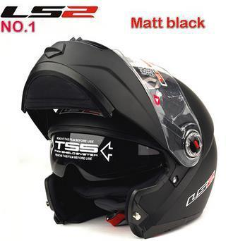 Free shipping Best sales Motorcycle helmets double visor flip up helmet racing helmets LS2 FF370