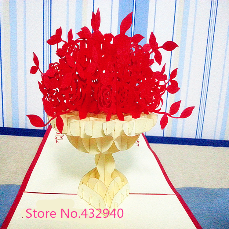 free-shipping-wholesale-Handmade-paper-carving-3d-diy-3-d ...