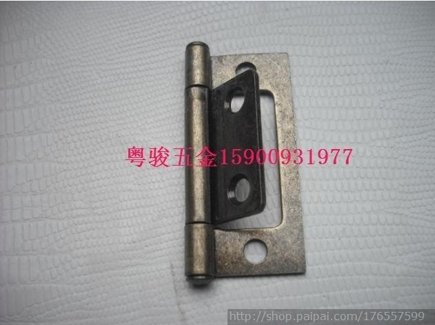 2-inch green bronze Picture hinge 2 inch Picture hinge antique hinge a Picture(China (Mainland))