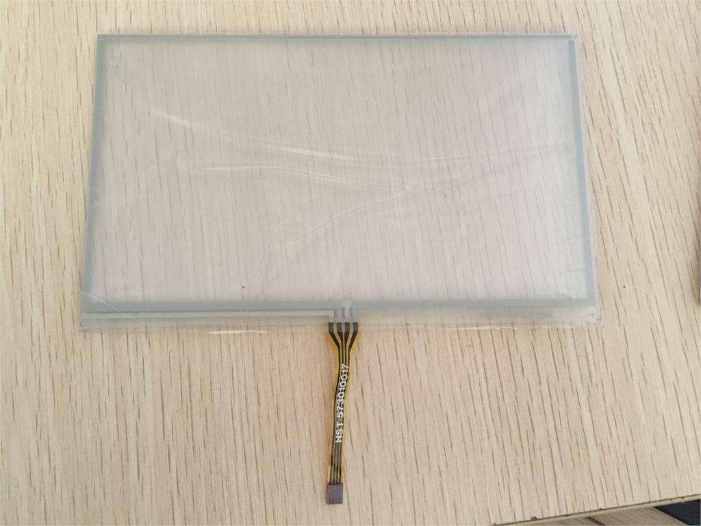 165X100mm 7inch 4 Wire Resistive Touch Screen touchscreen Panel Digitizer GPS navigator MP4 Tablet PC(China (Mainland))
