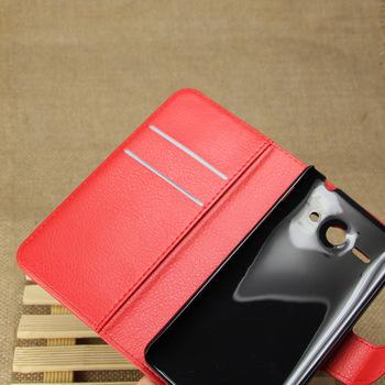 Etui dla Huawei Ascend Y530 C8813 | Portfel skórzany z miejscem na karty.
