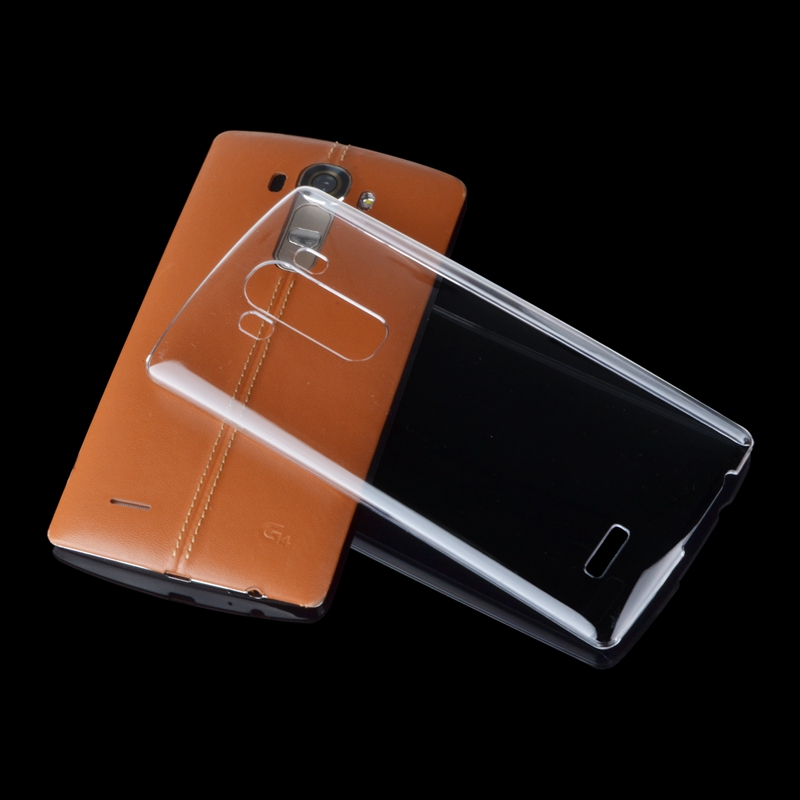 Transparent Gel Protective Back Cover For LG G4