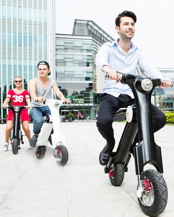 scooter ET Smart KBike+ e bike 48V 350W battery-operated motor cycle electric scooter+ Electric Folding+electric bicycle(China (Mainland))