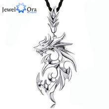 Дракон форма аксессуары ожерелья и подвески для мужчин новый 2015 мода серебряные ювелирные изделия ожерелье ( Jewelora NE101104 )(China (Mainland))