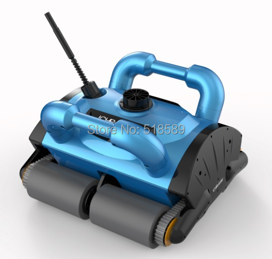 Free Shipping iCleaner-200 With 40m Cable Swim Pool Robot Cleaner Swimming Pool Automatic Cleaning Robotic Pool Cleaner(China (Mainland))