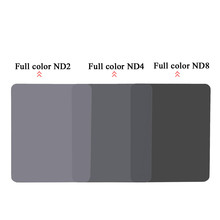 150mm*100mm Neutral Density Full Color ND 2 4 8 Square Filter for Cokin Z Series(China (Mainland))