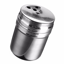 2016 New Arrival Stainless Steel Home Kitchen Bar Spice Jar MSG Household Pepper Pot for Cooking Cook Kitchener(China (Mainland))