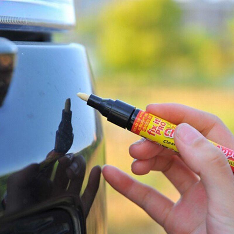 2015 Hot Fix it Pro Car Scratch Repair Filler & Sealer Pen Clear Coat Applicator As Seen On TV Painting Pens Simoniz Remover(China (Mainland))