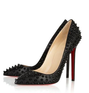 Aliexpress.com : Buy Red Bottom shoes Women women shoes rivets ...