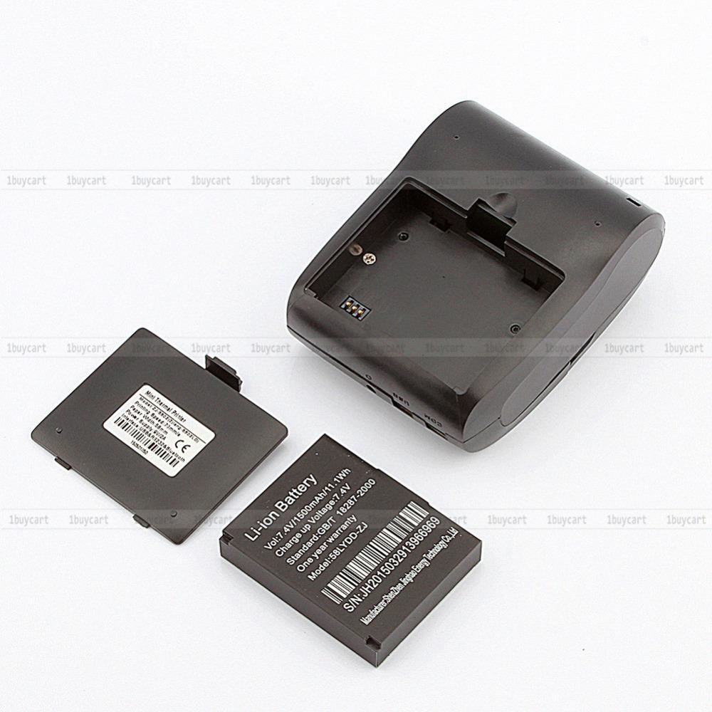 2015 NEW 1 PCS 5802LD Portable Bluetooth Wireless Mobile Mini Thermal Receipt Printer 58MM(China (Mainland))