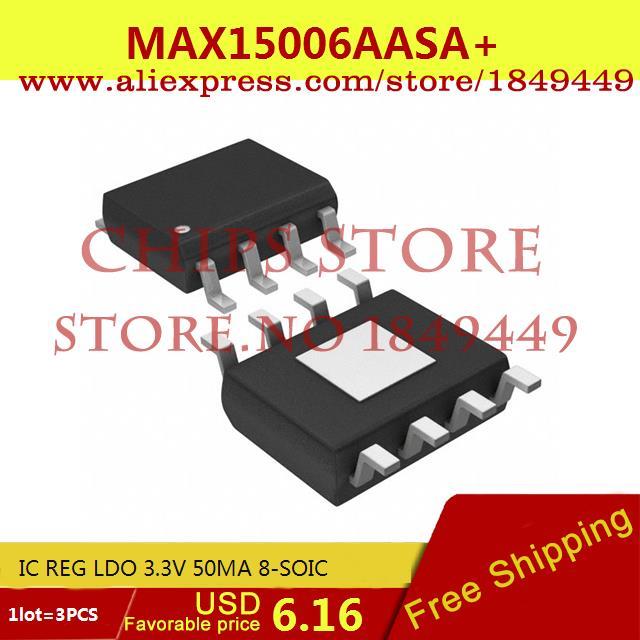 Бесплатная Доставка Горячей Продажи Smart Electronics Integrated Circuit MAX15006AASA IC REG LDO 3.3 В 50MA 8-SOIC 15006 MAX15006 15006A 3 ШТ. бесплатная доставка горячей продажи smart electronics integrated circuit tlv3501aidrg4 ic comp r r 4 5ns hs 8 soic 3501 tlv3501 3 шт