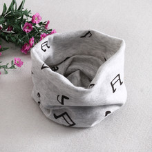 Fashion cotton soft baby scarf cute music note letter elephant cartoon design kis scarves thin folded boys collars girls collar(China (Mainland))