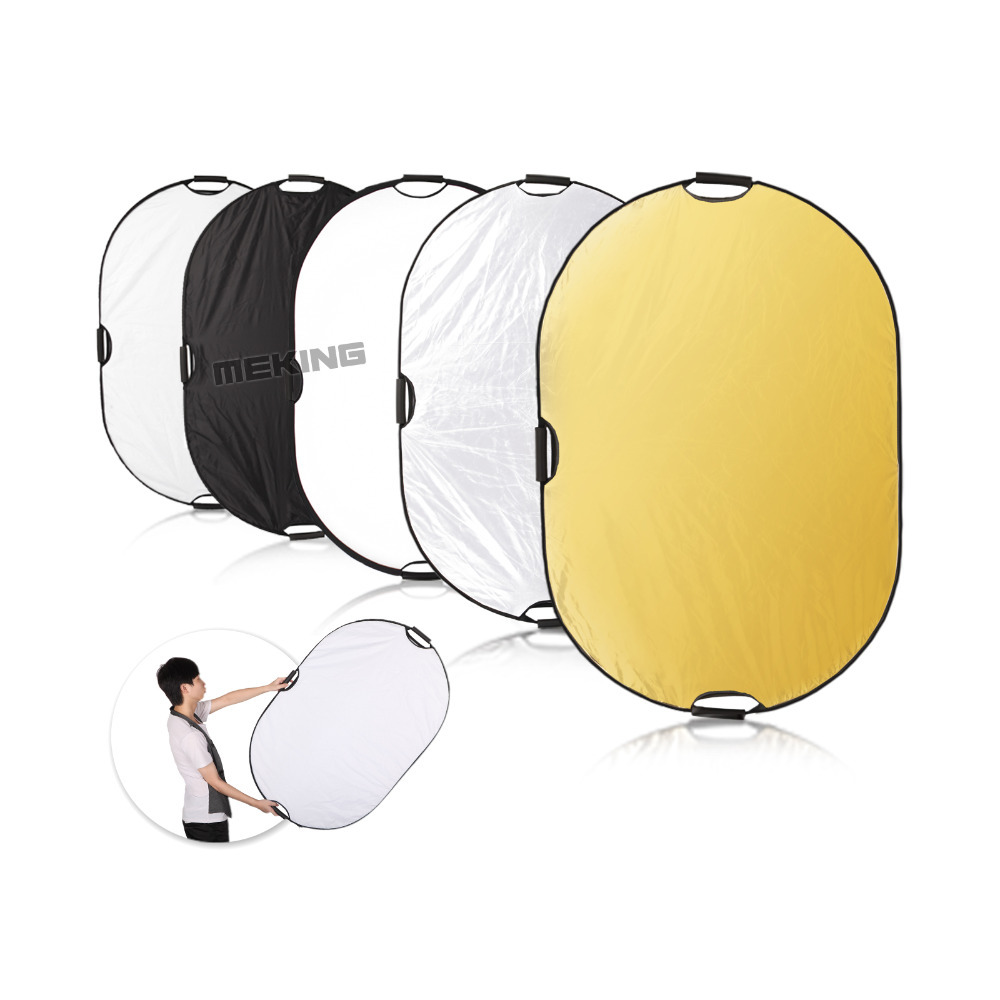 Фотография 2016 sale Meking Photography Photo Reflector 150*200cm/59*78.8in 5in1 Light Square Mulit Collapsible Portable lighting control