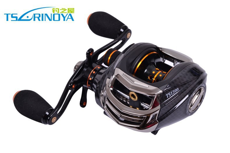 Trulinoya Brand Baitcasting Reel TS1200-R 13+1 Ball Bearings 204g Right Hand Bait Casting Lure Fishing Reel(China (Mainland))