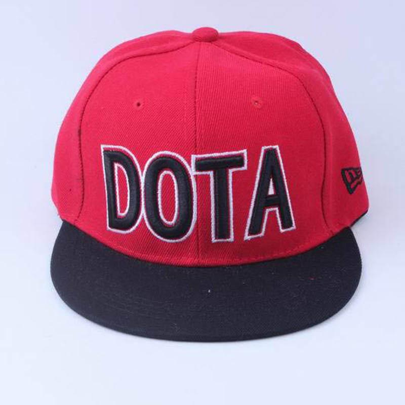wow 2016 Hip Hop Hats Dota Cap Rock Men Women Adjustable Chinese Popular Word Brand Summer Baseball Caps Sports Hat5(China (Mainland))